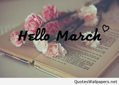 Hello March Awesome Photo 2016