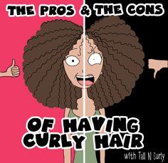 I pro e contro dei capelli ricci