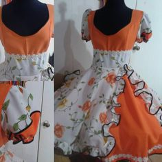 Dance Dresses, Chile, Apron, Halloween Costumes, Fashion, Medieval Gown, Dog Cushions, Folklorico Dresses, Fantasy Gowns