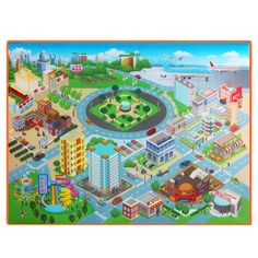Cheap Play Mats, Buy Directly from China Suppliers:Baby Carpet Kids Route Map City Town Crawling Pad Waterproof Foldable Climbing Mat Children Outdoor Picnic Toy Play Mat Toddler Toys, Baby Toys, Kids Toys, Escalade, Educational Toys For Kids, Outdoor Toys, City Maps, Baby Play, Pools