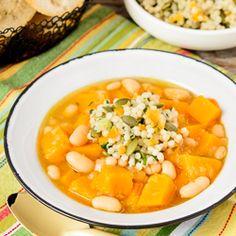 Butternut Squash White Bean Soup   Magnolia Days