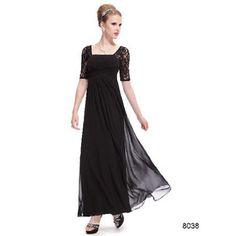 演奏会 結婚式 二次会 ファッションスリーブ ブラック系ロングドレス