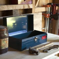 """Tools are now organized - Best Made 15"""" Toolbox - Gifts for Guys - Gift Ideas for Men - Gifts for Him"""