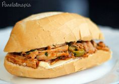 PANELATERAPIA - Blog de Culinária, Gastronomia e Receitas: Sanduíche de Pernil