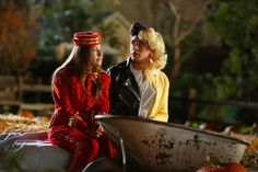 Pin for Later: TV Characters Have the Best Halloween Costumes This Year The Middle Brad (Brock Ciarlelli) goes all-out as Grease's Danny AND Sandy this Halloween, on the episode airing on Oct. 29.