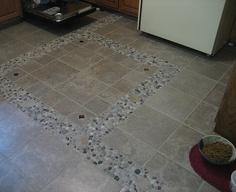 Stone Kitchen Floor Tiles: Custom Kitchen Floor