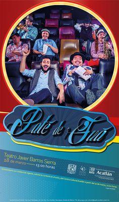 """Música: """"Paté de Fuá en concierto"""". Teatro Javier Barros Sierra. 18 de marzo, 13:00 horas.   Solicita tus cortesías en el Centro Cultural Acatlán, a partir del 10 de marzo, a las 10:00 horas. Únicamente comunidad UNAM con credencial vigente."""