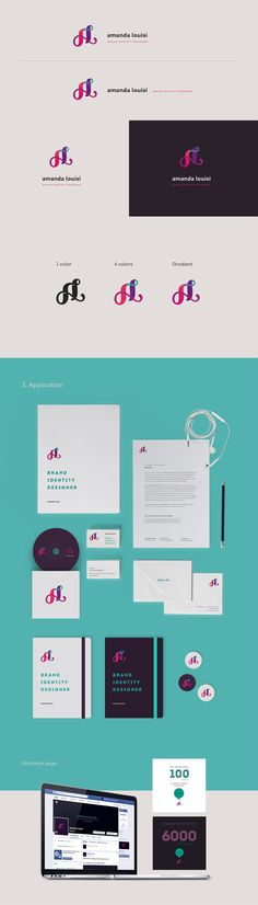 Amanda Louisi (personal identity) on Behance