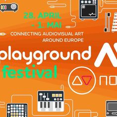 Playground AV is the audiovisual festival for liveperfomances and crossculture multimedia. Art Festival, Playground, Events, Facebook, Children Playground, Outdoor Playground