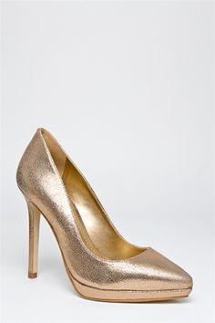 Montauk High Heel Pump - Gold# high pumps# cheap shoes online# hot shoes #red pumps# nude shoes# cheap heels#  heels for cheap