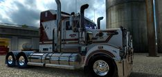 Selman Bros skin for the Kenworth T908 Mod - American Truck Simulator mod | ATS mod