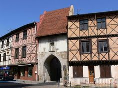 The town of St-Rambert, where I lived for 4 years.