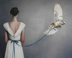 Gossamer Wings by Amy Judd Owl Art, Bird Art, Foto Fantasy, Art Du Monde, Gossamer Wings, Max Ernst, Man Ray, Belle Photo, Oeuvre D'art