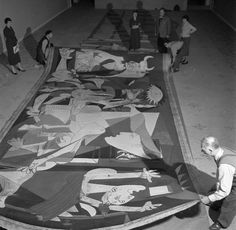 """""""June 10 1955 the painting 'Guernica' of Pablo Picasso is exposed to the Musee des Arts Decoratifs in Paris."""" by chicojefferson Picasso Art, Picasso Paintings, Pablo Picasso, Guernica, Picasso Pictures, Art Pictures, Art Pics, Trinidad, Hispanic Art"""