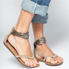Sandals - i have a version of these with shells, and another with in black & metal