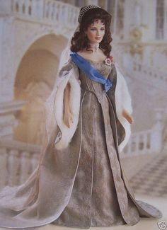 Faberge's Czarina Alexandra Wedding Bride Doll - The Franklin Mint
