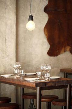 Carnalentejana restaurant - Innovative restaurant concept with integrated store - Lisbon, Portugal - 2012 - mjz studio #restaurant #interiors #renovation #food