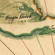#Map of the Mouth of the #Hudson River, by Vingboons (1639)