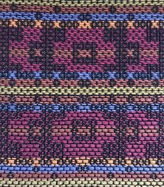 S & W by Mary Bentley, Pairs, 8 shafts Summer Winter, Textile Art, Color Inspiration, Geometry, Weave, Cool Designs, Bohemian Rug, Hand Weaving, Projects To Try