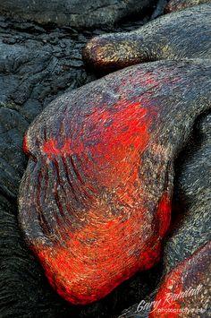 ~~Kalapana Lohi Pāhoehoe ~ a slow moving blob of lava by Gary Randall~~