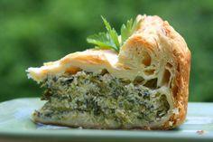 RAPINI PIE | Rustic torta with rapini, ricotta, parmesan, and eggs | Z Tasty Life