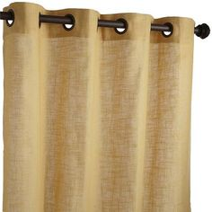 Case In Point Our Blythe Curtain Panel Its Constructed Of A Woven Linen Blend Fabric And Accented With Grommet Hardware See Easy Window Dressing That