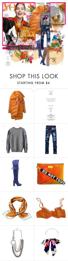 """Doutzen Kroes Covers Vogue Spain November 2016"" by merrygorounds ❤ liked on Polyvore featuring Marques'Almeida, StyleNanda, Kenzo, rumisu, Sonia Rykiel, Erickson Beamon, Grace, dresslily, polyvoreeditorial and fallsweaters"