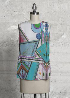VIDA Design Studio Vida Design, Print Design, Studio, Tops, Women, Fashion, Moda, Fashion Styles, Studios