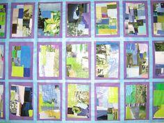 *Fun Art 4 Kids: 3rd grade color quilt