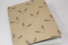 Cahier, carnet de note 16 pages - lapin