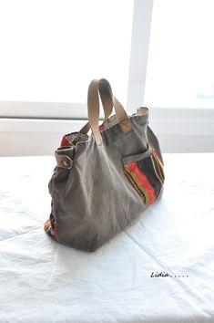 The Inez Weekender, Yoga Mat, Large Travel Bag, Carry on, Large Diaper Bags, Carpet Bag, Diy Tote Bag, Denim Bag, Fabric Bags, Casual Bags, Cloth Bags, Handmade Bags, Fashion Bags