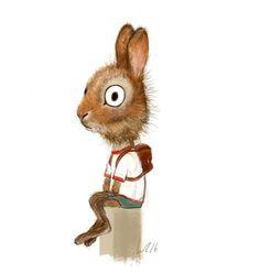 I'm a freelance illustrator from Düsseldorf. You can contact me via hello@wiebke-rauers.de.....Rabbit