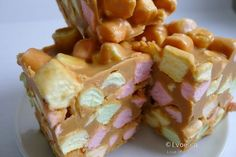 Butterscotch Peanut Butter Marshmallow Squares a.k.a Butterscotch Confetti Squares Recipe   Love of Eating - Kamloops Food Blog