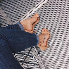 denim and heels kinda friday  #mood #heels #denim #jeans #friday #fashion #fashionista