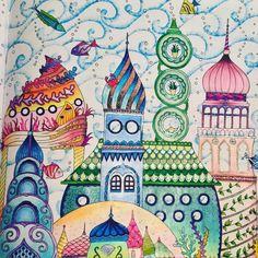 It's not finish yet. I still think about background... #coloring #colouring #johannabasford #lostocean #instacoloring #instacolouringbook #colouringbook #colouringbooks #colourinspiration #colouringbookforadults #kolorowanka #kolorowankadladorosłych #zaginionyocean