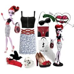 Operetta from Monster High - Polyvore
