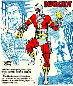Deadshot by Marshall Rogers & Terry Austin Bat Costume, Deadshot, Character Modeling, Alter Ego, Gotham, Dc Comics, Illustration Art, Pacific Rim, Naruto