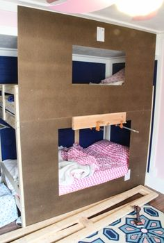how to build a Bunk bed playhouse tutorial  (10 of 40)