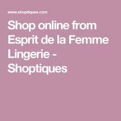 261480868b31b Shop online from Esprit de la Femme Lingerie - Shoptiques Lingerie