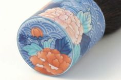 Seigai Botan, Makeup Brush (Large) - Japanese Ceramics