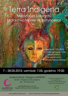 """Wystawa """"Terra Indigena – Medytacja Labiryntu, Malarstwo Moniki Worsztynowicz"""""""
