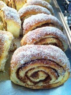 No Bake Desserts, Delicious Desserts, Dessert Recipes, Yummy Food, Swedish Recipes, Bagan, Sweet Bread, Food Inspiration, Nutella