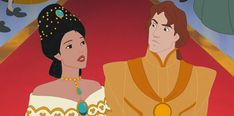 Pocahontas II: Journey to a New World; Pocahontas gets a Princess Dress Disney Pocahontas, Disney Pixar, Walt Disney, Disney Songs, Disney Films, Disney Princess, Princess Pocahontas, Disney Couples, Disney Stuff