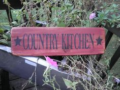 painted wood kitchen signs - Google Search
