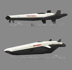 Robot Concept Art, Weapon Concept Art, Concept Cars, Spaceship Art, Spaceship Design, Kerbal Space Program, Flying Vehicles, Future Transportation, Starship Concept