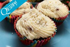 These Protein German Chocolate Coconut Cupcakes Will Treat Your Sweet Fall Cravings