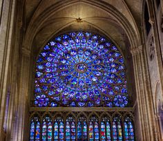 North Rose Window in Notre Dame | Flickr - Photo Sharing!