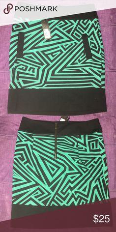 Neon Lover Skirt Neon Lover Skirt Jade Black Kardashian Kollection Skirts Mini