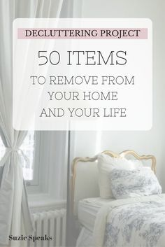50 things to remove