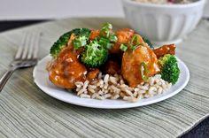 Homemade general tsos chicken